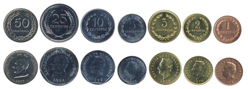 Монеты сальвадора цена на монеты пермь