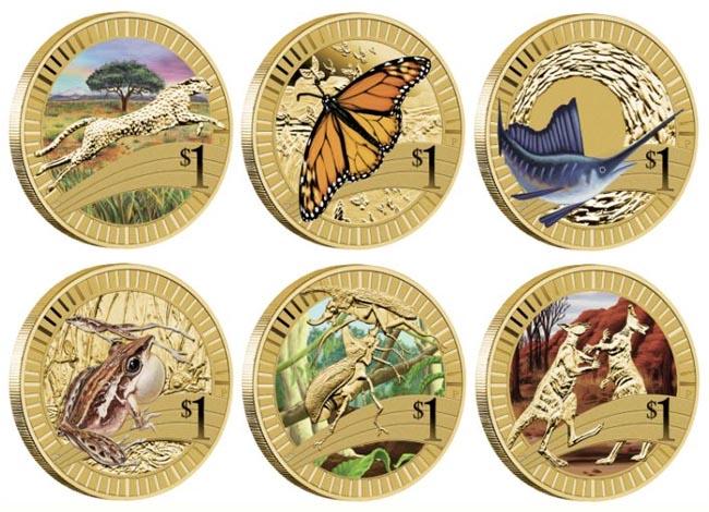 Монеты с животными австралии калининский радиус