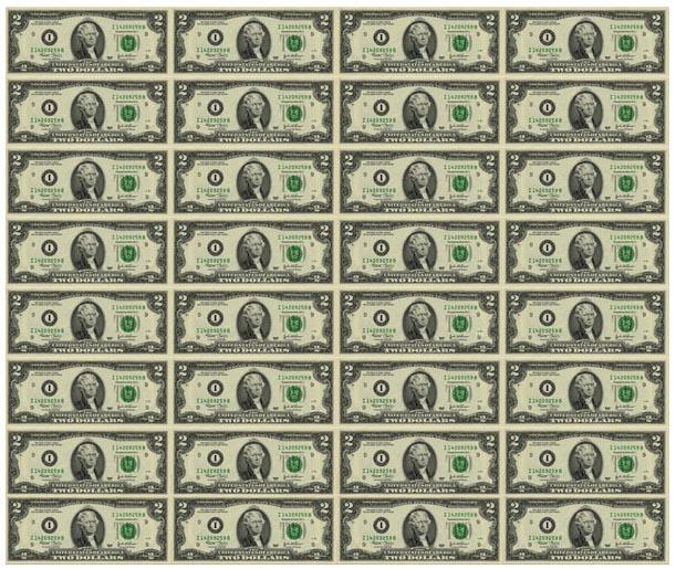 доллары серия штаты